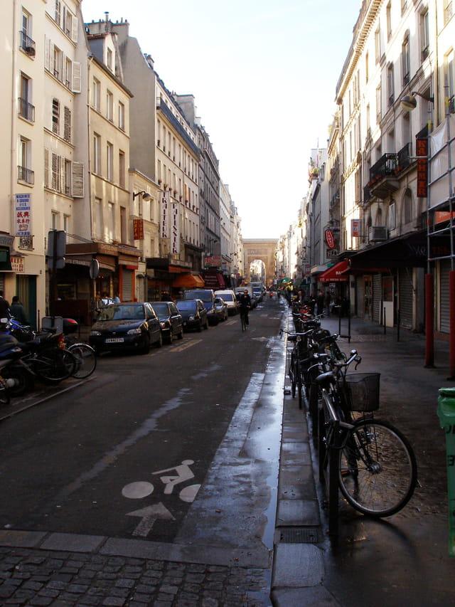 Rue du faubourg St. Denis