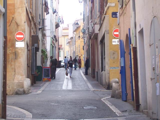 Rue du panier centre ville