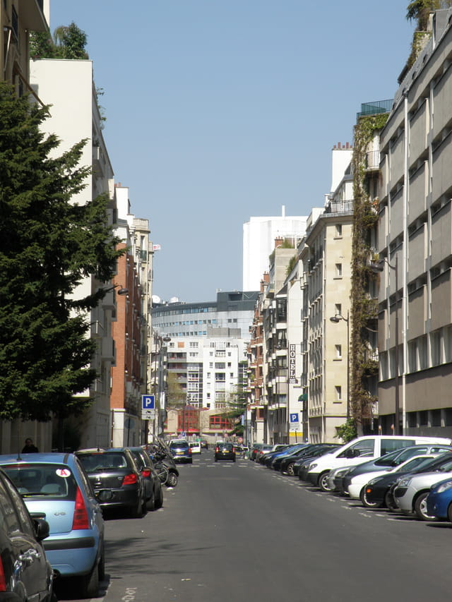 Rue Félicien David, à Paris