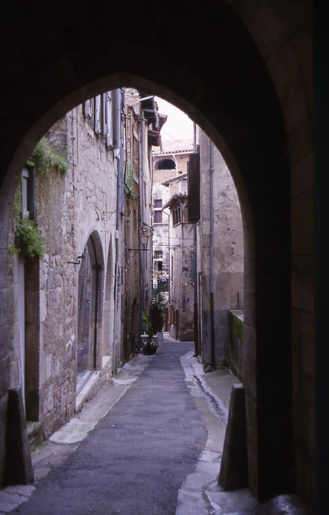 Rue intime du Vieux Nice
