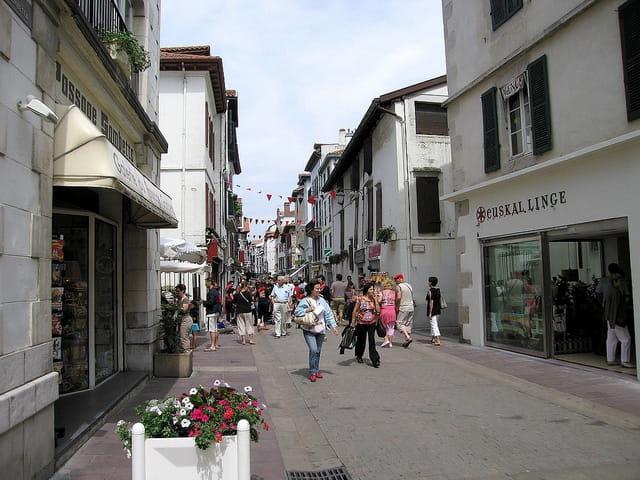 Rue piétonne-St.Jean de Luz