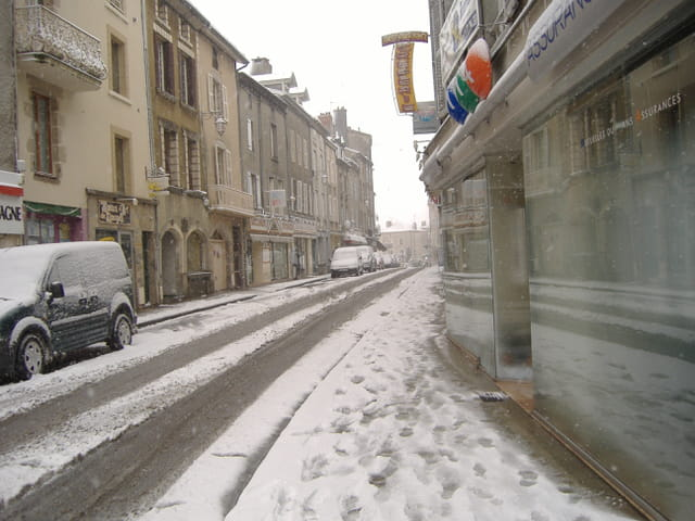 Rue thiers a Bellac