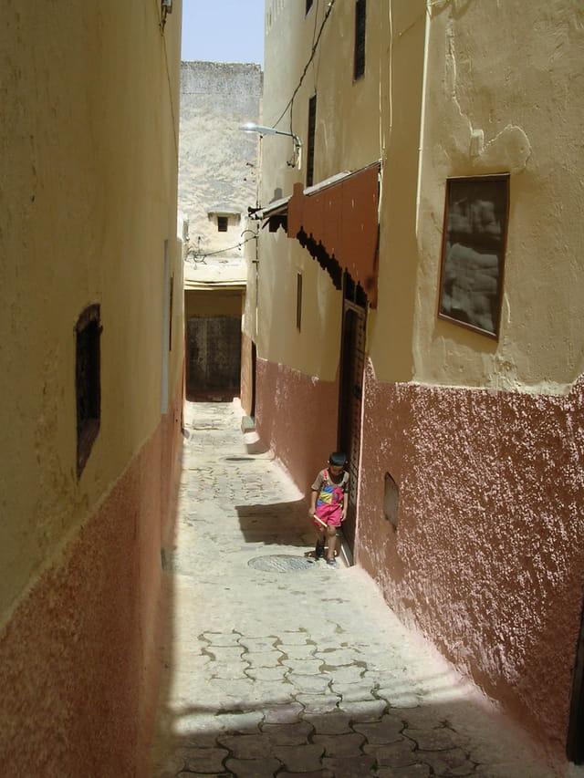 Ruelle de la Medina de Fes