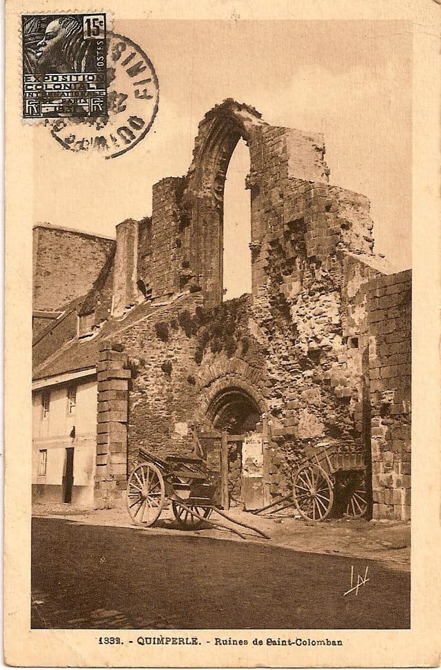Ruines de St Colomban