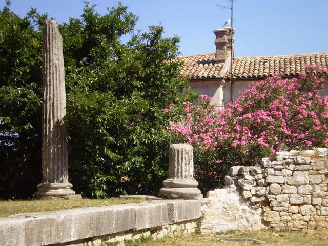Ruines romaines à Porec