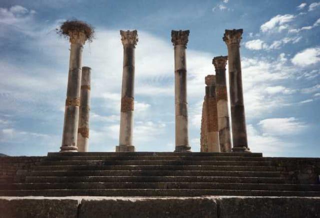 Ruines romaines de Volubilis...