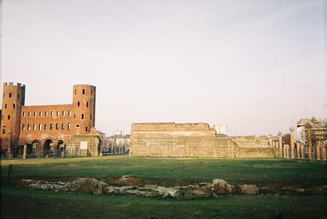 Ruines romaines turin