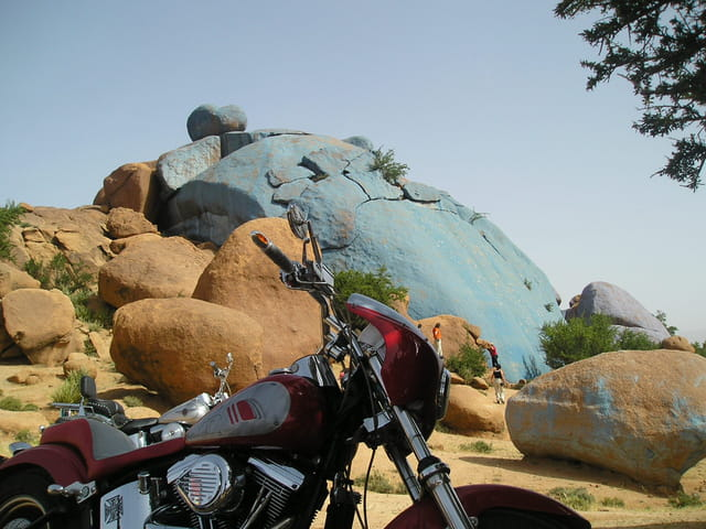 Run moto au Maroc
