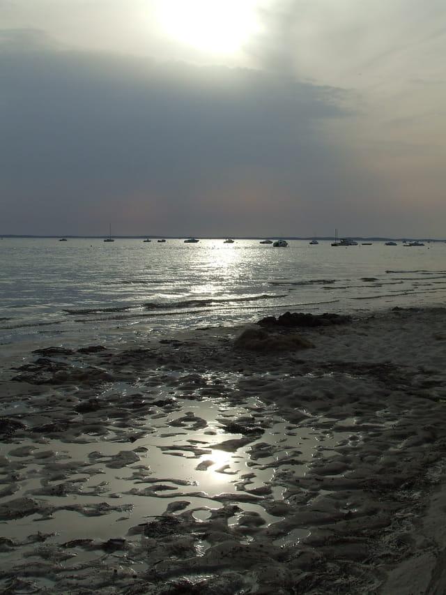 Reflets sable et ciel
