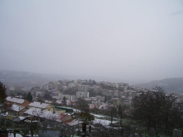 Saint etienne sous la neige
