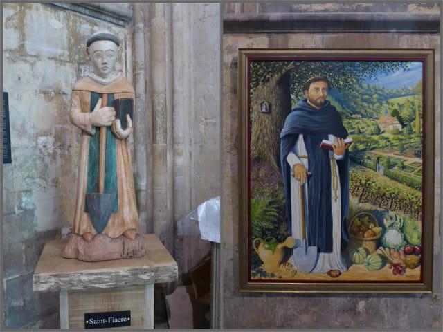 Saint Fiacre (patron des jardiniers)