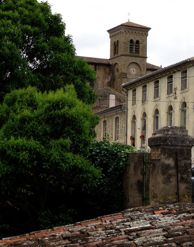 Saint Hilaire et son abbaye
