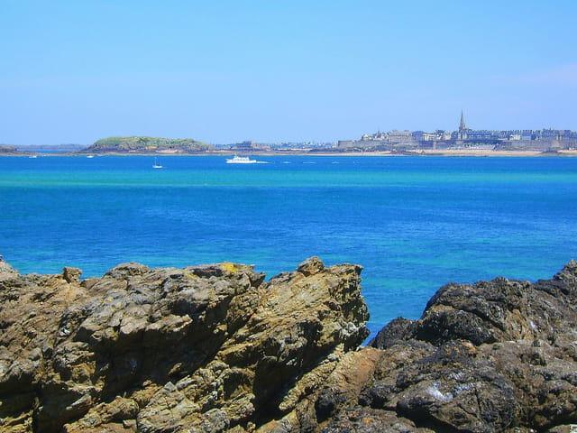 Saint Malo (10) Vue de Dinard