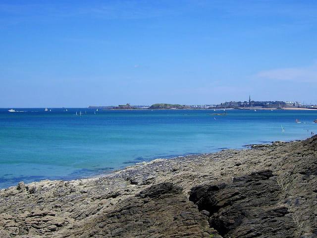 Saint Malo (11) Vue de Dinard