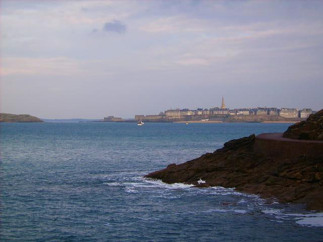 Saint Malo (3) Vue de Dinard