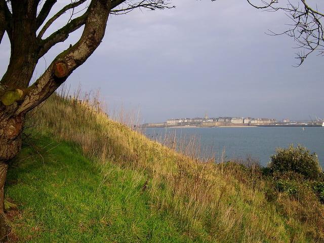 Saint Malo (4) Vue de Dinard
