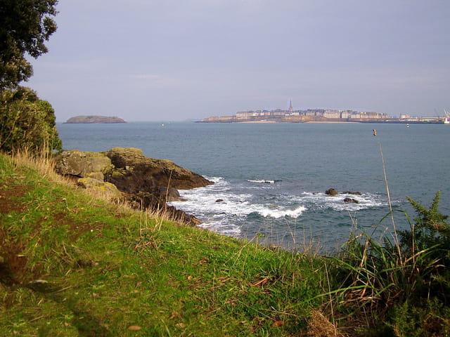 Saint Malo (6) Vue de Dinard