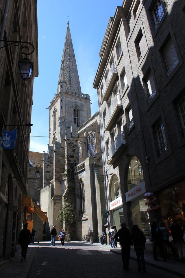 Saint-Malo la cathédrale Saint-Vincent