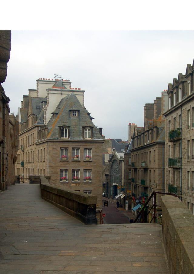 Saint-malo - les remparts