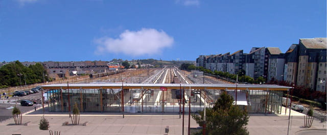 Saint-malo - nouvelle gare