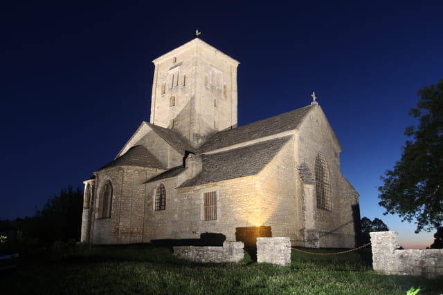 Saint Martin de Laives en nocturne