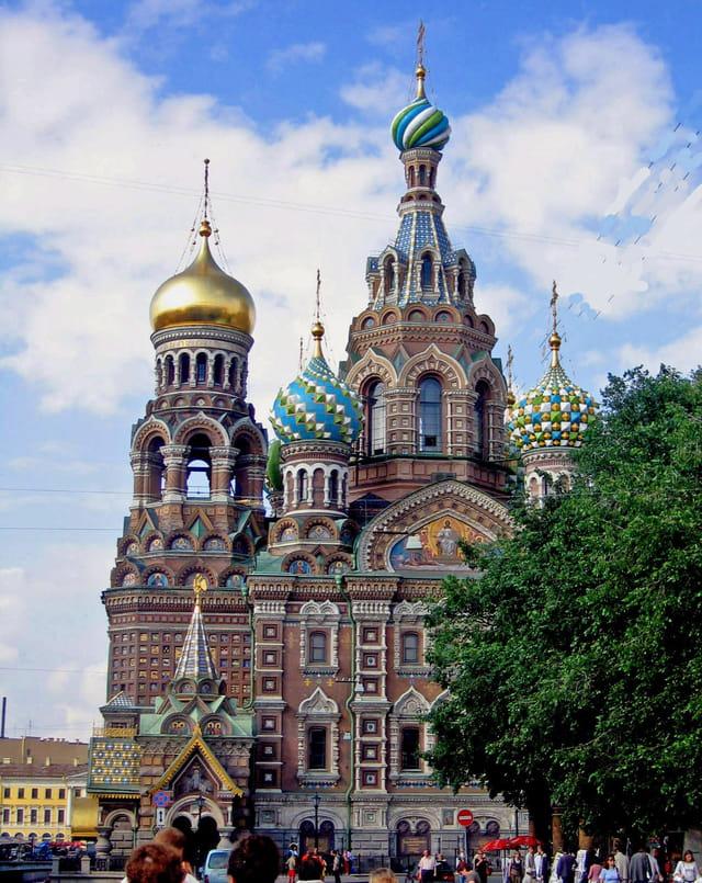 Saint Petersbourg, basilique du Saint Sang