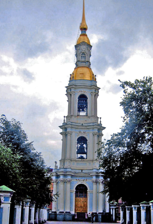 Saint Petersbourg, Clocher Saint Nicolas des marins