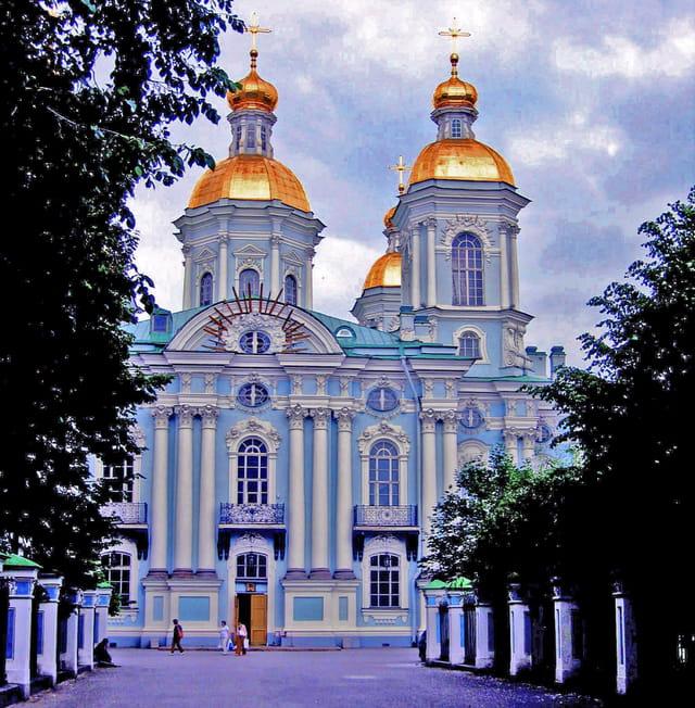 Saint Petersbourg, côté Saint Nicolas des marins