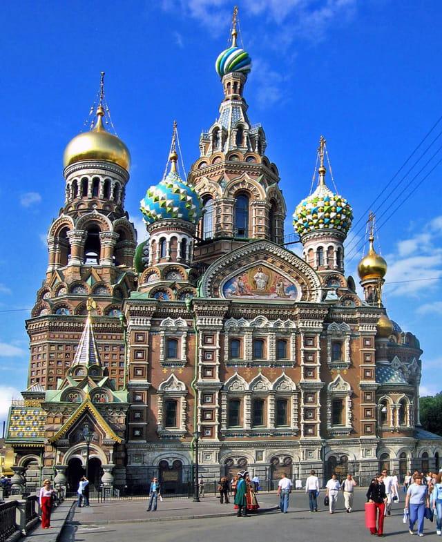 Saint Petersbourg, �glise du Saint Sang