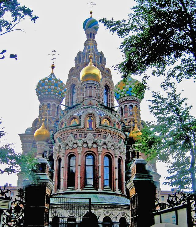Saint Petersbourg, tours basilique du Saint Sang
