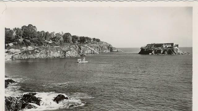 Saint Quay Portrieux, le chemin de ronde et île de la comtesse