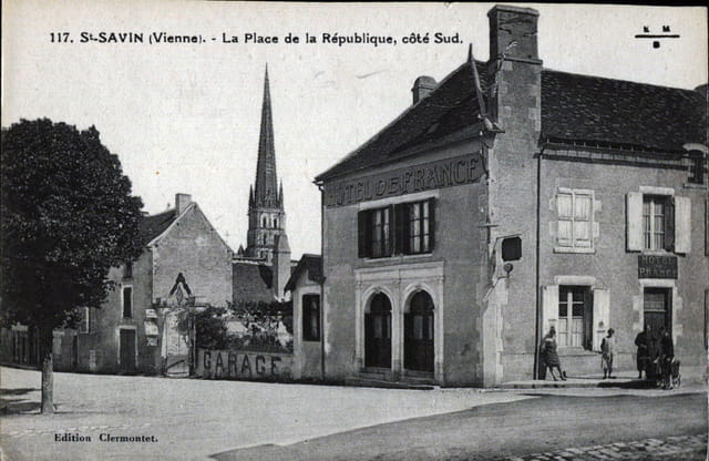 Saint-Savin sur Gartempe