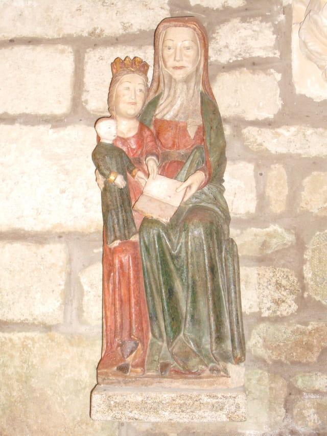 Sainte-Anne trinitaire (Guidel).