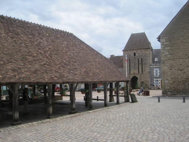 Sainte-Sévère-sur-Indre, le village où Jacques Tati tourna Jour de Fête
