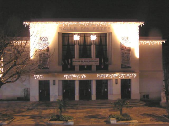 Salle des fêtes de noël