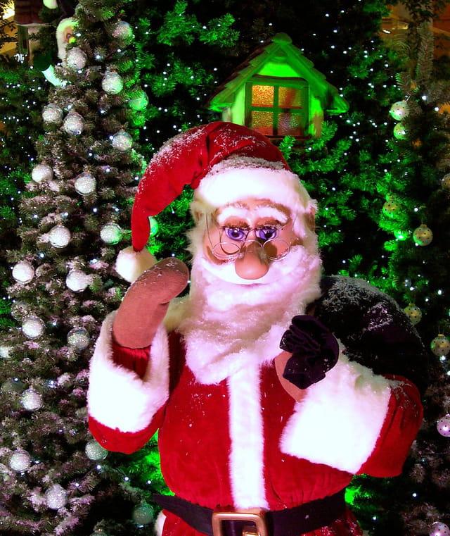 Salut du père Noël