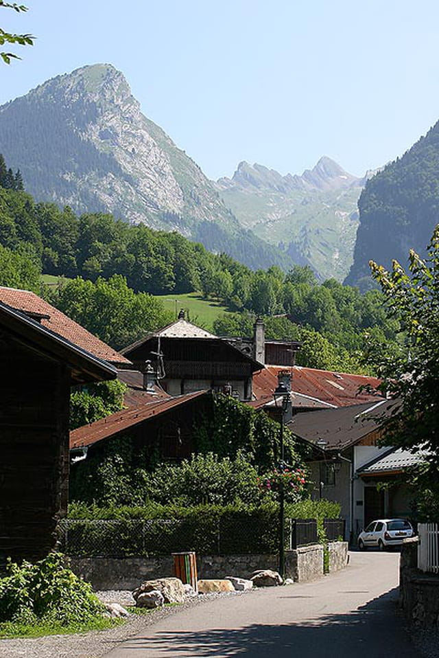 Samoëns, le village