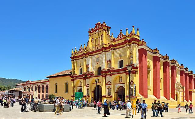 San Cristobal de Las Casas, Cathédrale.