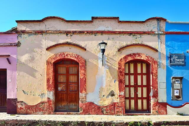 San Cristobal, le charme d'une vieille façade.