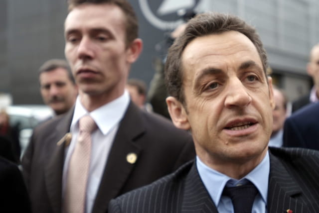 Sarkozy au salon de l'agriculture