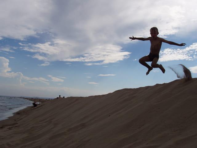 Saut de dunes