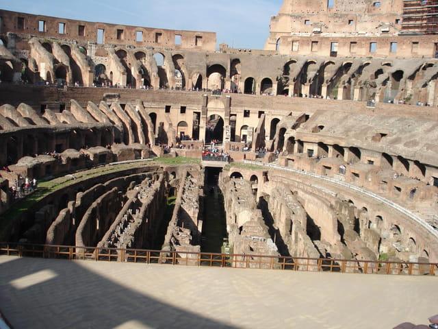 Scène du colisée de rome