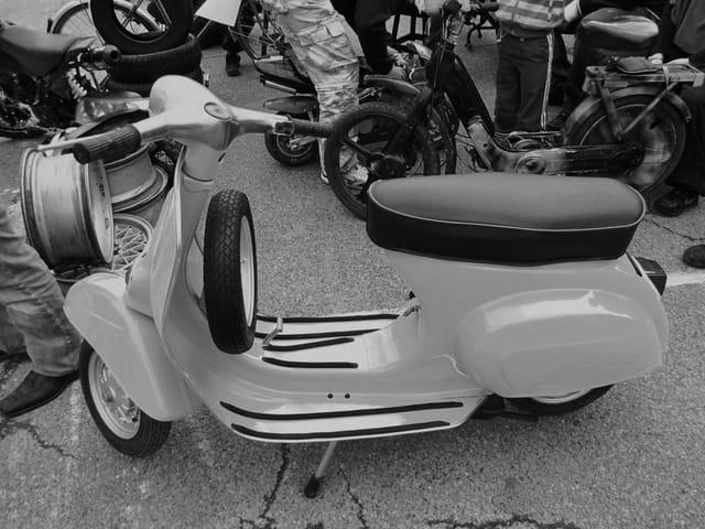 Scooter Vespa - Années 1960.