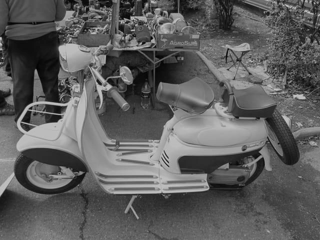 Scooter Vespa - Années 60.