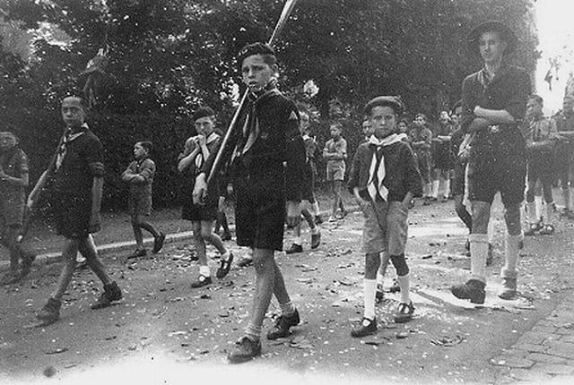 Scouts à la procession