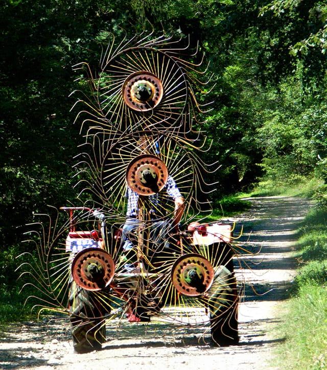 Sculpture agricole