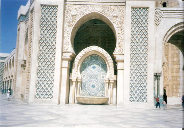 Sculpture de la mosquée Hassan ll