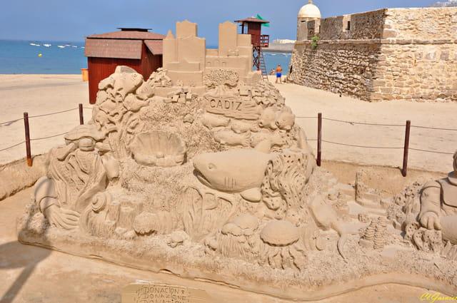Sculpture de sable 1