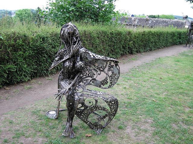 Sculpture en fer