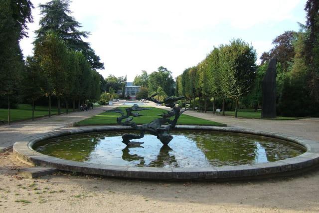 Sculpture et jardin